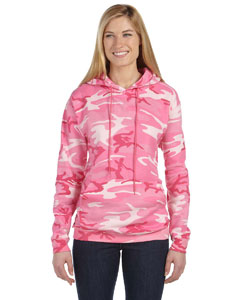 Custom embroidered 3969 Code V Camouflage Hooded Sweatshirt, 7.5 oz