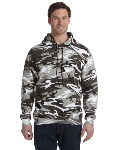ustom embroidered 3969 Code V Camouflage Hooded Sweatshirt, 7.5 oz.