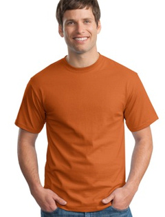 custom embroidered Custom embroidered Hanes® - Tagless 100% Cotton T-Shirt. 5250.
