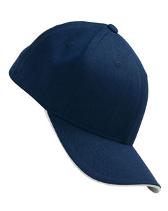6077 Yupoong Flexfit® Cool & Dry® Sandwich Cap embroidered with your logo.