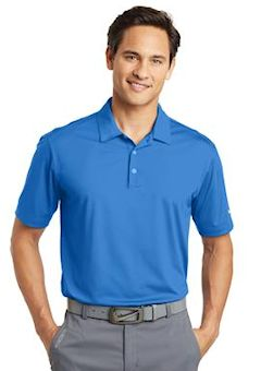 Custom embroidered Nike Golf Dri-FIT Vertical Mesh Polo. 637167