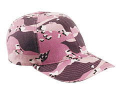 custom embroidered 6977CA Yupoong Flexfit� Cotton Camouflage Cap