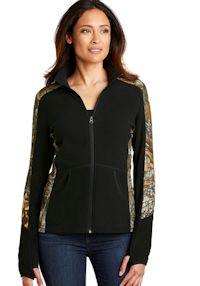 Custom Embroidered Port Authority ® Camouflage Microfleece Full-Zip Jacket. L230C