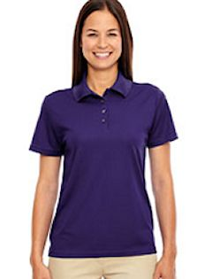 Custom embroidered 78181 Ash City - Core 365 Ladies Origin Performance Piqué Polo.