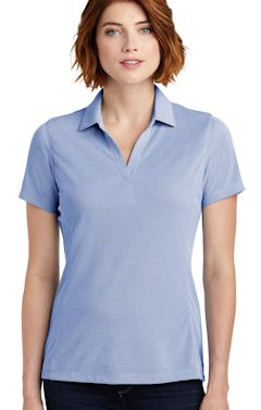 Custom embroidered Port Authority ® Ladies Poly Oxford Pique Polo. LK582