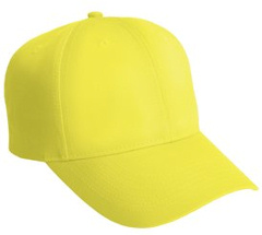 embroidered solid safety cap, C806
