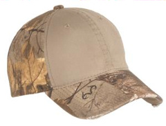 This custom embroidered Port Authority � - Camo Cap with Contrast Front Panel. C807.