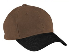 Custom embroidered Port Authority ® - Two-Tone Brushed Twill Cap. C815.
