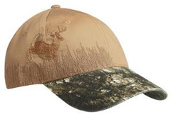 Custom Embroidered Camo Camouflage Caps Hats Twill Waxed