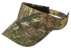 This custom embroidered Port Authority � - Camouflage Visor. C822