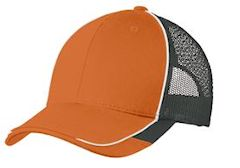 Custom embroidered Port Authority ® Colorblock Mesh Back Cap. C904