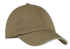 custom embroidered Port & Company® - Washed Twill Sandwich Bill Cap. CP79