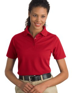 CornerStone ® - Industrial Pocketless Pique Polo. CS403 with embroidered logo