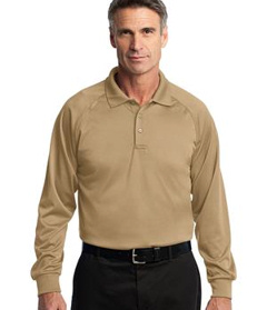 embroidered CornerStone� - Select Long Sleeve Snag-Proof Tactical Polo.CS410LS