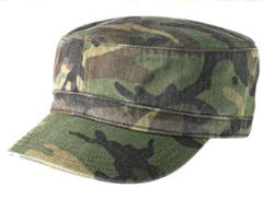 ustom embroidered District ® - Distressed Military Hat. DT605