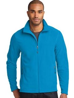 Custom embroidered Eddie Bauer ® Full-Zip Microfleece Jacket. EB224