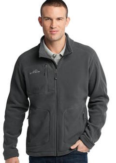 Custom embroidered Eddie Bauer ® - Wind Resistant Full-Zip Fleece Jacket. EB230