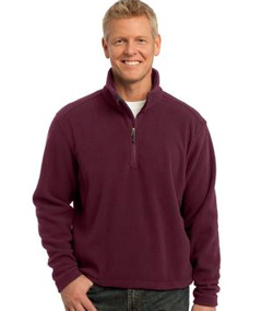 custom embroidered Port Authority ® - Value Fleece 1/4-Zip Pullover. F218