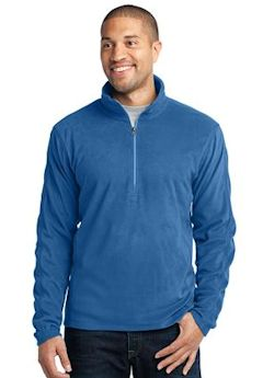 Custom embroidered Port Authority ® Microfleece 1/2-Zip Pullover. F224