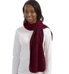 Port Authority ® - R-Tek ® Fleece Scarf. FS01. embroidered fleece scarf