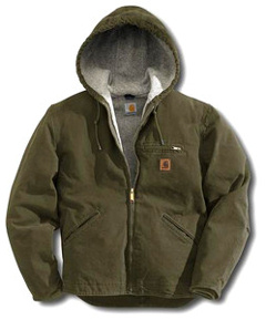 J141 Carhartt Sandstone Sierra Jacket , embroidered with your logo.