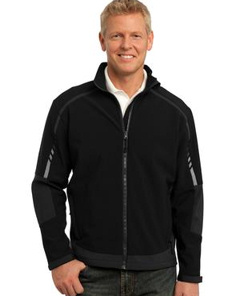 embroidered Port Authority ® - Embark Soft Shell Jacket. J307.