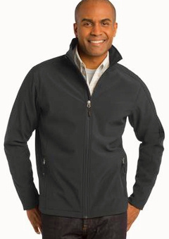 custom embroidered Port Authority ® Core Soft Shell Jacket. J317