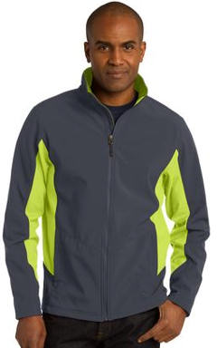 Custom Embroidered Port Authority ® Core Colorblock Soft Shell Jacket. J318.