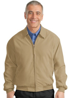 custom embroidered Port Authority® - Casual Microfiber Jacket. J730