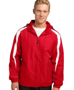 embroidered Sport-Tek® - Fleece-Lined Colorblock Jacket. JST81