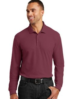 Port Authority ® Long Sleeve Core Classic Pique Polo. K100LS
