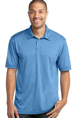 Custom embroidered Port Authority � - Performance Cross Dye Polo. K513