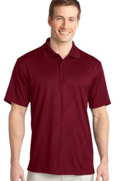 custom embroidered Port Authority � - Tech Embossed Polo. K548