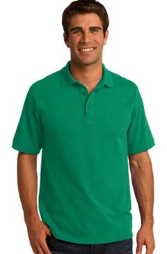 Custom Embroidered Port & Company ® 50/50 Pique Polo. KP155