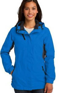 Custom embroidered Port Authority ® Cascade Waterproof Jacket. L322