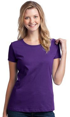 Custom embroidered Fruit of the Loom ® Ladies Heavy Cotton HDT 100% Cotton T-Shirt. L3930
