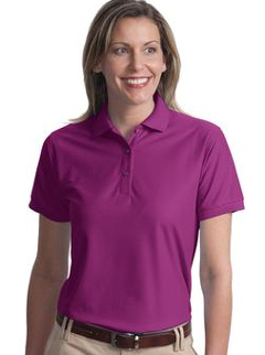 custom embroidered Port Authority ® - Ladies Silk TouchT Polo. L500