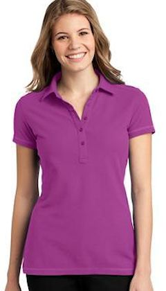 Custom embroidered Port Authority ® Ladies Modern Stain-Resistant Polo. L559