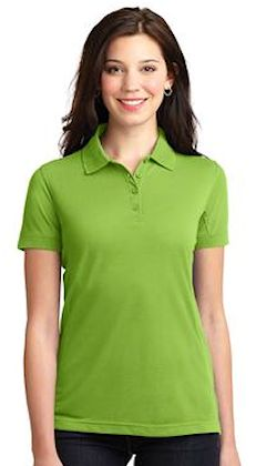Custom embroidered Port Authority ® Ladies 5-in-1 Performance Pique Polo. L567