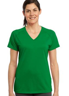 Custom embroidered Sport-Tek ® - Ladies Ultimate Performance V-Neck. LST700