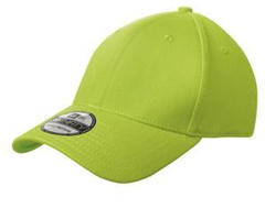 Custom embroidered New Era ® - Structured Stretch Cotton Cap. NE1000