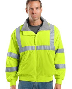 Embroidered Safety ChallengerT Jacket with Reflective Taping. SRJ754