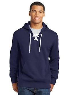 custom embroidered Sport-Tek® Lace Up Pullover Hooded Sweatshirt. ST271