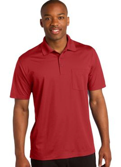 custom embroidered Sport-Tek ® Micropique Sport-Wick ® Pocket Polo. ST651