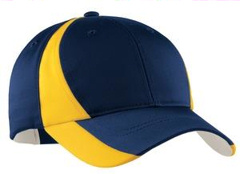 custom embroidered Sport-Tek® - Dry ZoneT Nylon Colorblock Cap. STC11