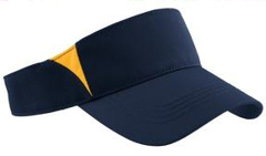 Sport-Tek ® - Dry ZoneT Colorblock Visor. STC13 with your custom embroidery.