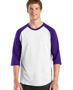 custom embroidered Sport-Tek ® - Colorblock Raglan Jersey. T200