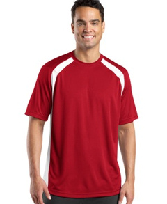 custom embroidered Sport-Tek ® - Dry ZoneT Colorblock Crew. T478