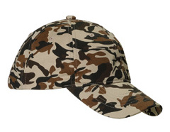 Custom embroidered BX018 Big Accessories Unstructured Camo Hat