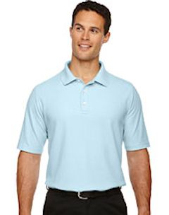 Custom embroidered DG150 Devon & Jones Men's DRYTEC20™ Performance Polo.